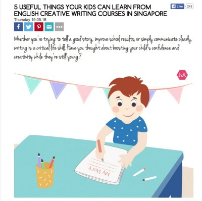 5 Useful things your child can learn from CW classes in Singapore